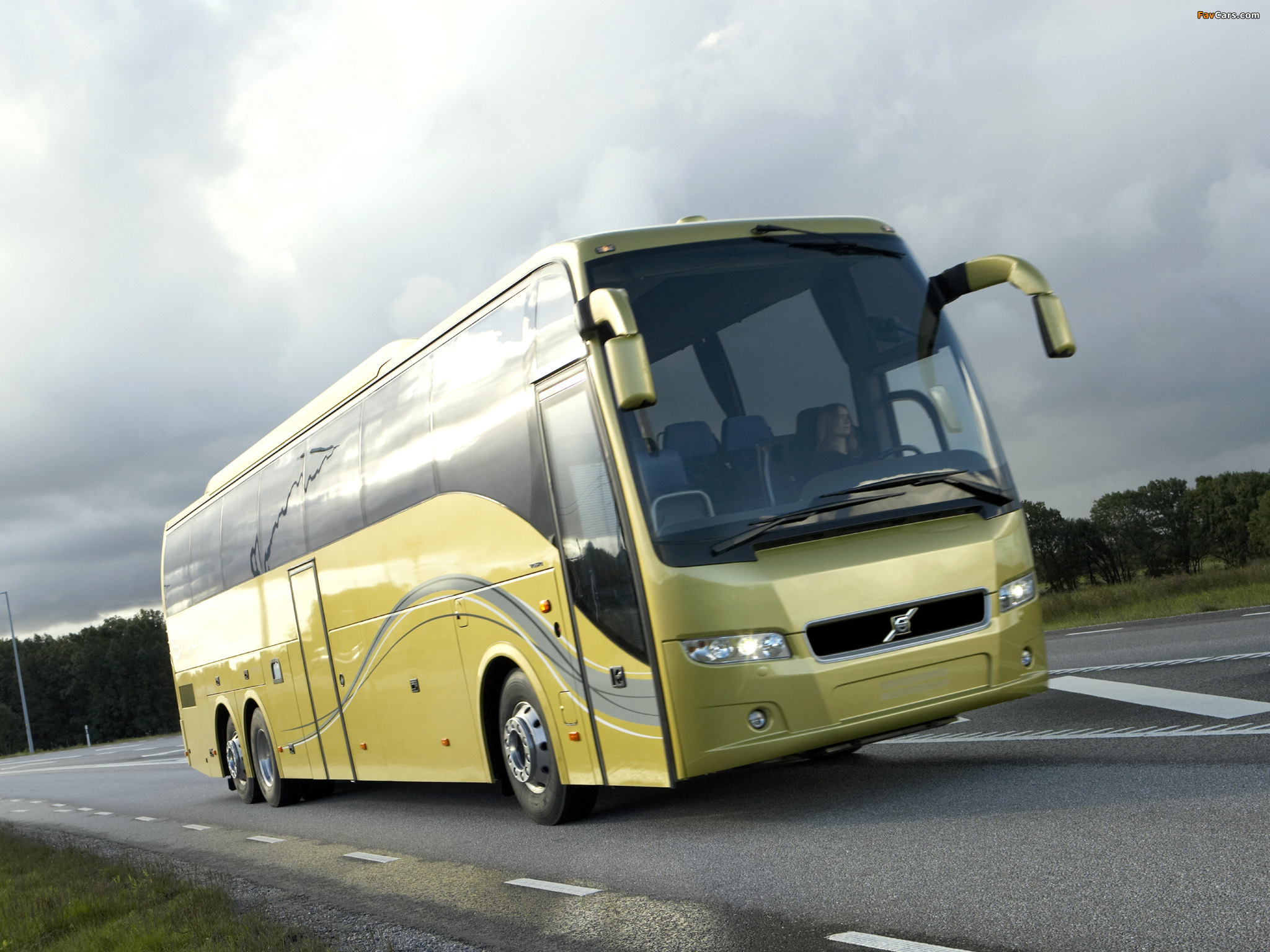 Volvo 9700 6x2 2007 wallpapers (2048 x 1536)