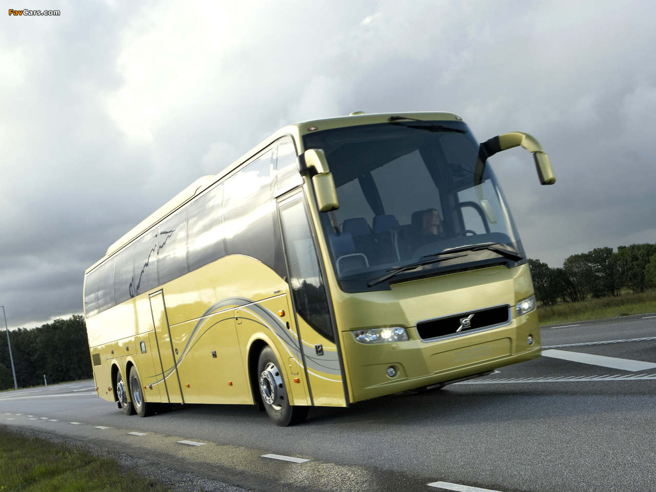 Volvo 9700 6x2 2007 wallpapers (1280 x 960)