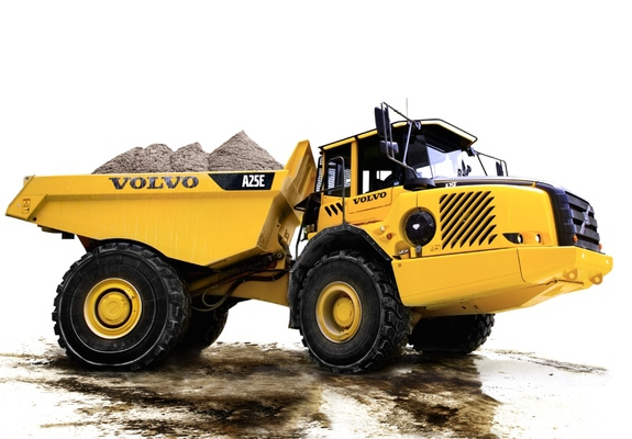 Images of Volvo A25E 4x4 2008–11