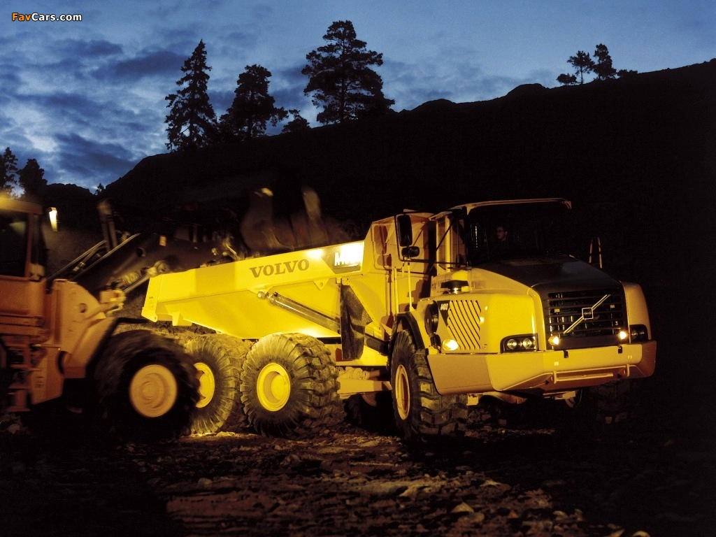 Pictures of Volvo A40D 2001–07 (1024 x 768)