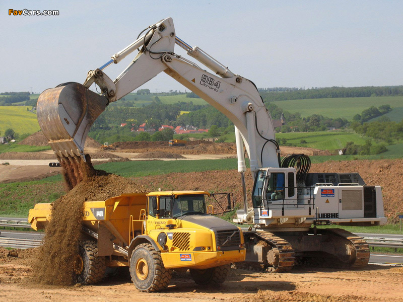 Volvo A40D 2001–07 wallpapers (800 x 600)