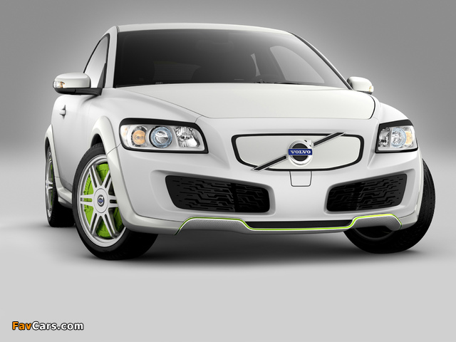 Images of Volvo C30 ReCharge Concept 2007 (640 x 480)
