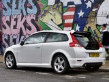 Images of Volvo C30 R-Design DRIVe Efficiency UK-spec 2008–09