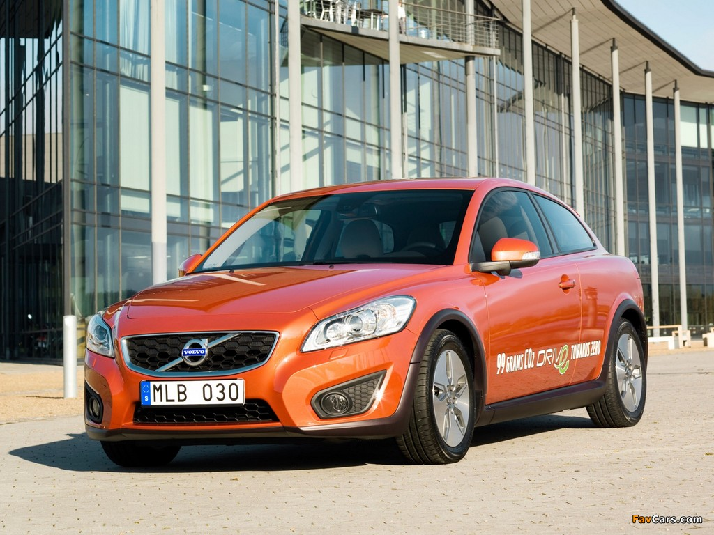Images of Volvo C30 DRIVe 2009 (1024 x 768)