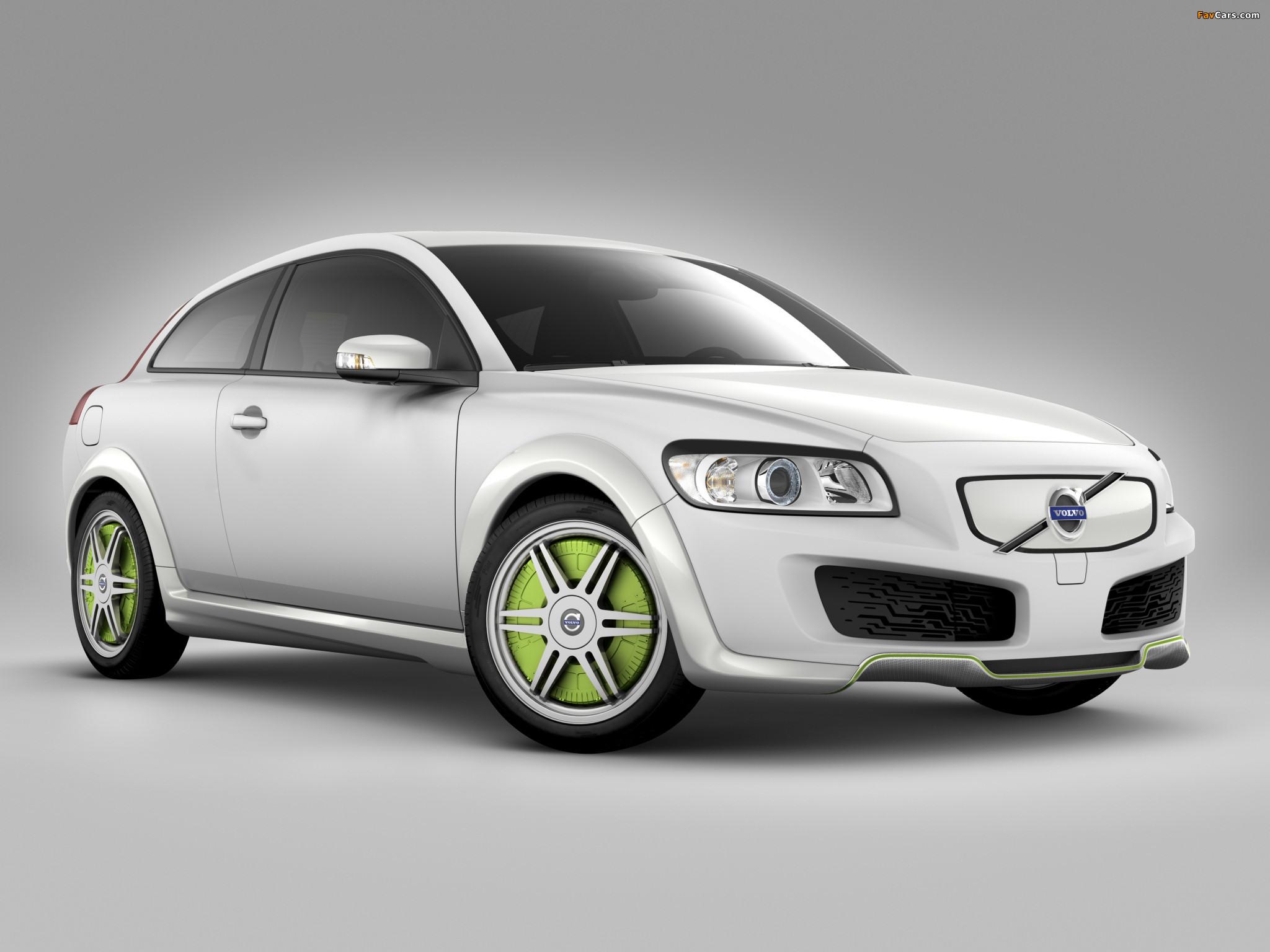 Volvo C30 ReCharge Concept 2007 images (2048 x 1536)