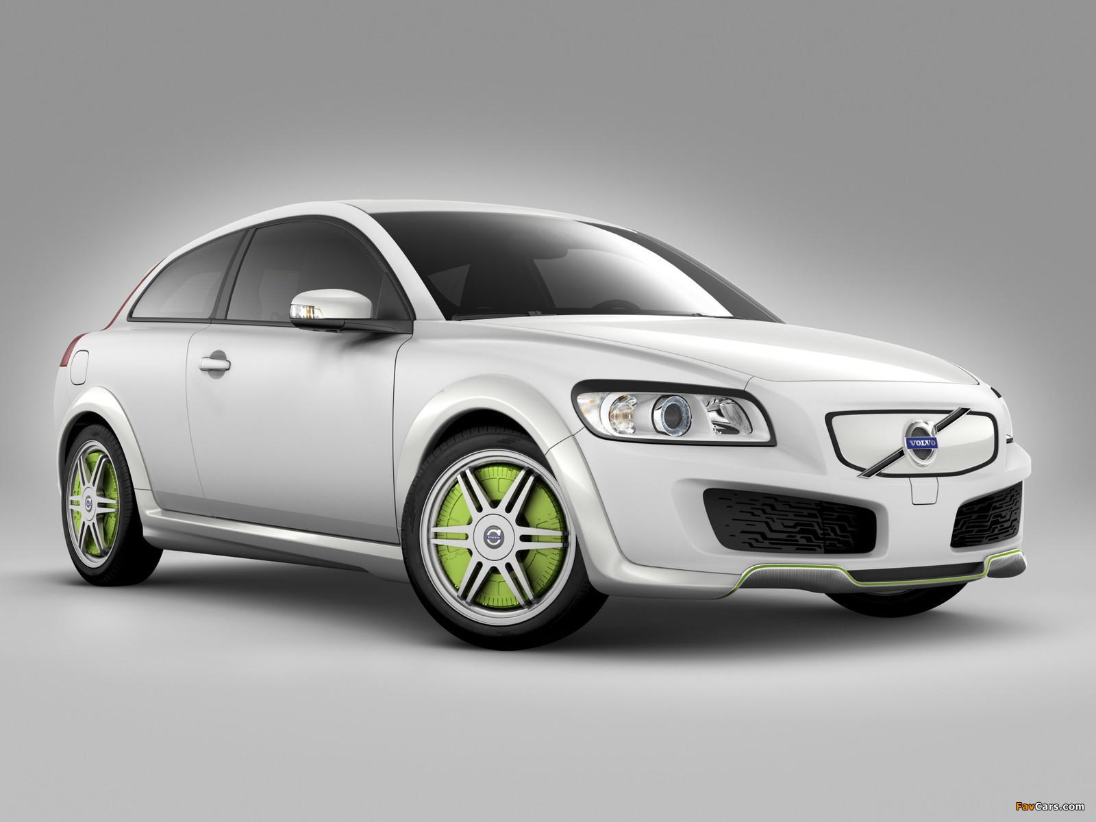 Volvo C30 ReCharge Concept 2007 images (1600 x 1200)