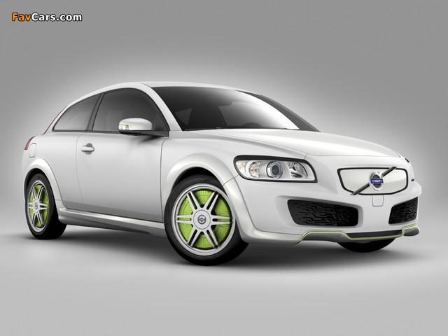 Volvo C30 ReCharge Concept 2007 images (640 x 480)