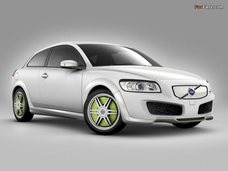 Volvo C30 ReCharge Concept 2007 images (800 x 600)