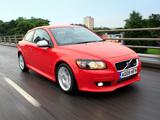 Volvo C30 R-Design DRIVe Efficiency UK-spec 2009 images