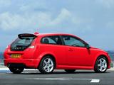 Volvo C30 R-Design DRIVe Efficiency UK-spec 2009 wallpapers
