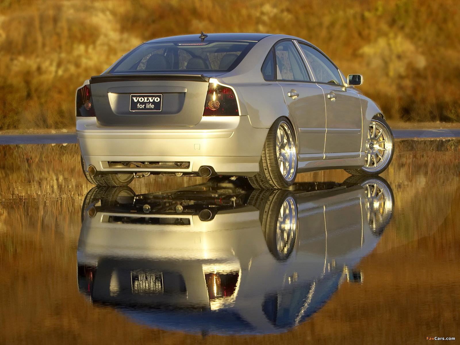 Evolve Volvo S40 SEMA Concept 2004 photos (1600 x 1200)