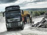 Photos of Volvo FH16 750 8x4 2011–12