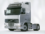 Volvo FH12 Globetrotter XL Silver Cab 1995–2001 photos