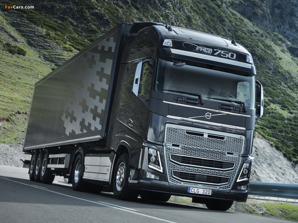 Volvo Fh16 750 4x2 2012 Wallpapers 1024x768