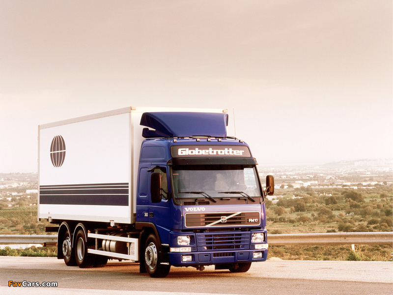 Photos of Volvo FM10 Globetrotter 6x2 1998–2003 (800 x 600)