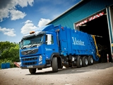 Photos of Volvo FM 420 8x4 Rolloffcon UK-spec 2011–13