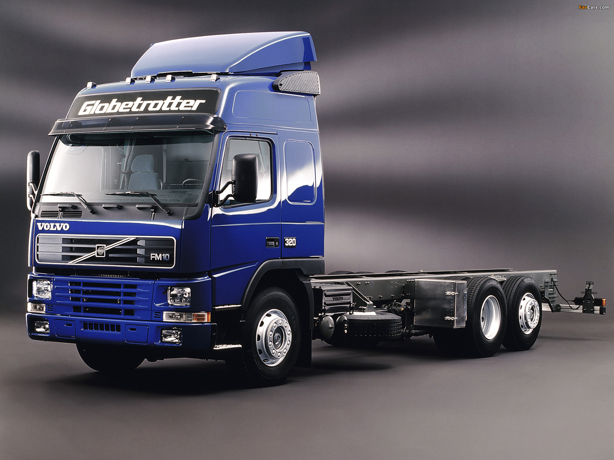 Volvo FM10 Globetrotter 6x2 1998–2003 wallpapers (2048 x 1536)