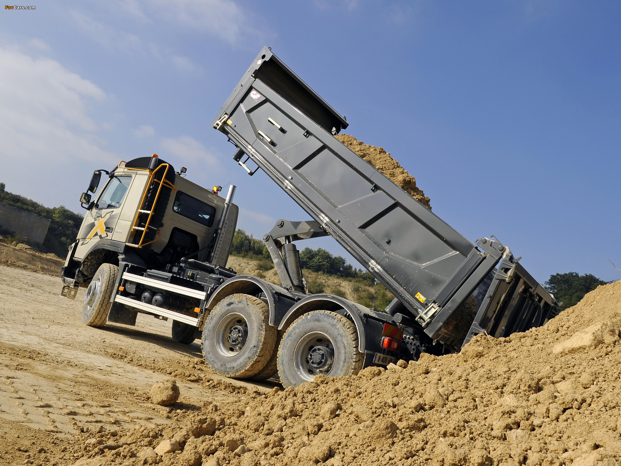 Volvo Fmx 6x4 2010 Images 2048x1536
