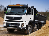 Volvo FMX 8x4 UK-spec 2010–13 photos