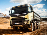 Volvo FMX 8x4 UK-spec 2013 wallpapers