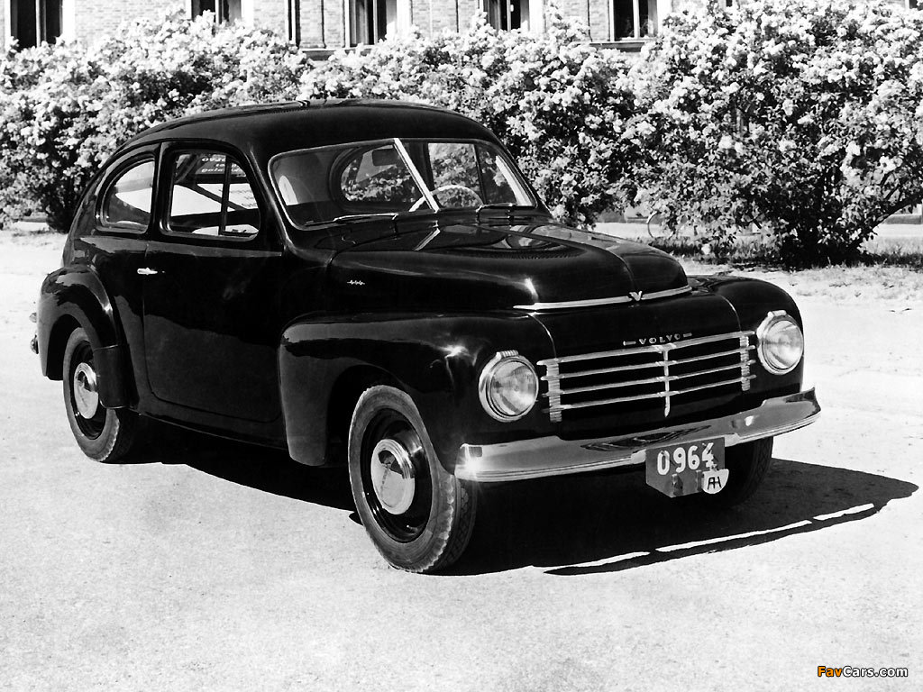 Images of Volvo PV444A 1944 (1024 x 768)