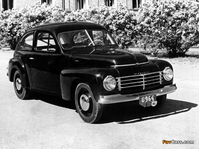Images of Volvo PV444A 1944 (640 x 480)