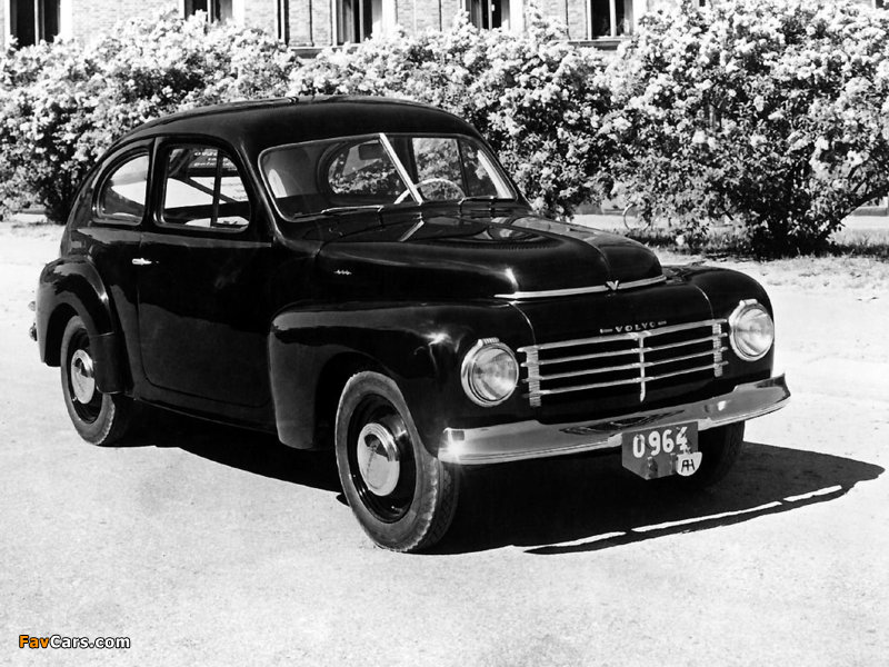 Images of Volvo PV444A 1944 (800 x 600)