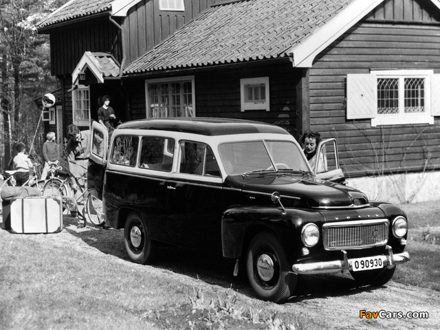 Images of Volvo PV445 Duett 1958 (640 x 480)