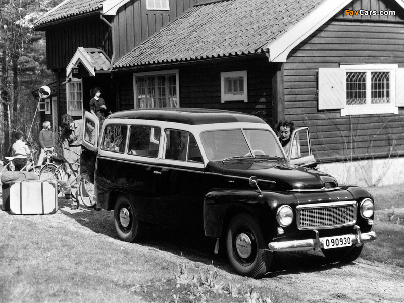 Images of Volvo PV445 Duett 1958 (800 x 600)