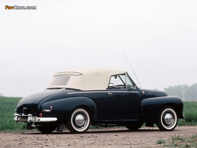 Pictures of Volvo PV445 Valbo Cab 1950 (640 x 480)
