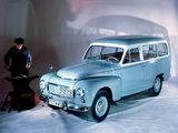 Pictures of Volvo PV445 Duett 1958