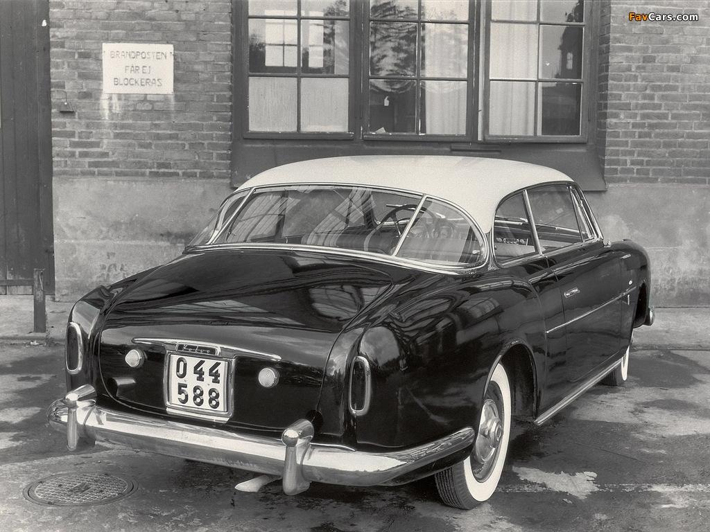Volvo PV445 Elisabeth I Concept 1953 pictures (1024 x 768)