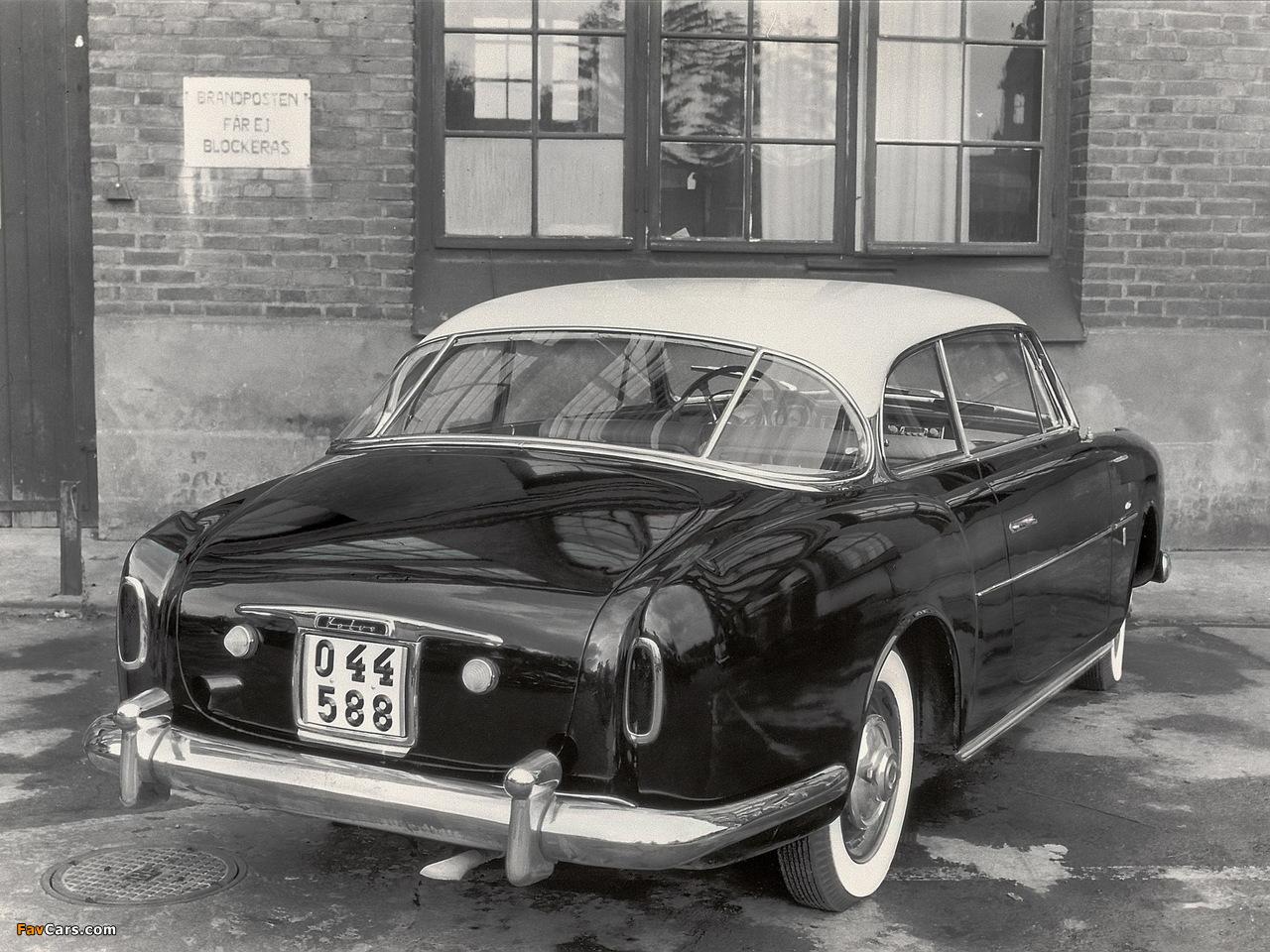 Volvo PV445 Elisabeth I Concept 1953 pictures (1280 x 960)