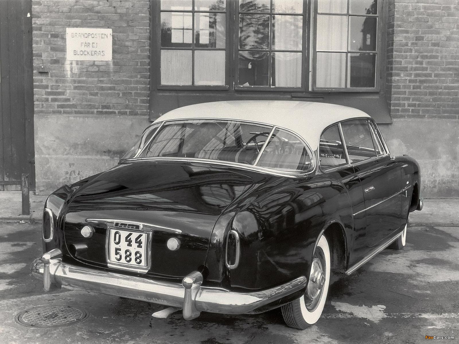 Volvo PV445 Elisabeth I Concept 1953 pictures (1600 x 1200)