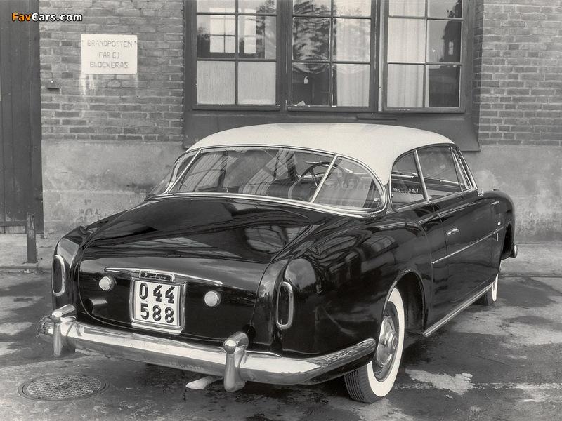 Volvo PV445 Elisabeth I Concept 1953 pictures (800 x 600)