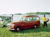Volvo PV445 Duett 1958 wallpapers
