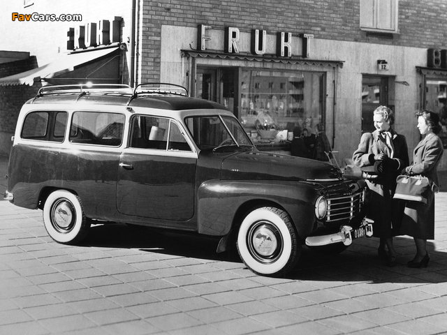 Volvo PV445DH images (640 x 480)