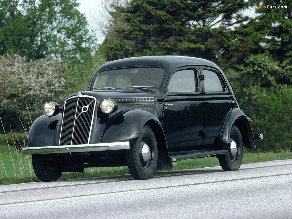 Volvo PV52 1937 wallpapers (1024 x 768)