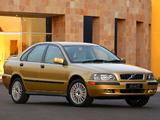 Images of Volvo S40 T4 ZA-spec 2002–04