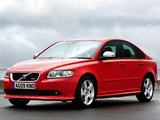 Images of Volvo S40 R-Design UK-spec 2008–09