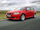 Photos of Volvo S40 R-Design UK-spec 2008–09