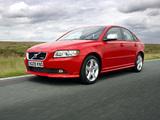 Photos of Volvo S40 R-Design UK-spec 2008–09