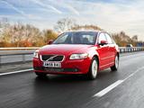 Photos of Volvo S40 DRIVe UK-spec 2009