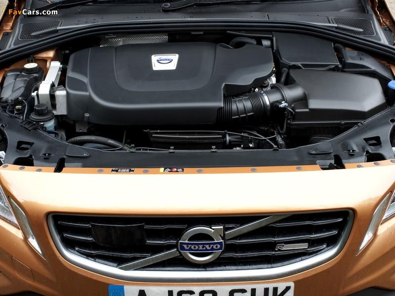 Photos of Volvo S60 D5 R-Design UK-spec 2010–13 (800 x 600)