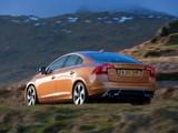 Volvo S60 D5 R-Design UK-spec 2010–13 photos