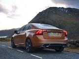 Volvo S60 D5 R-Design UK-spec 2010–13 wallpapers