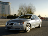 Volvo S80 UK-spec 2006–09 photos