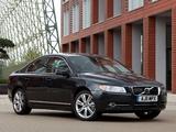 Volvo S80 DRIVe Efficiency UK-spec 2011–13 wallpapers