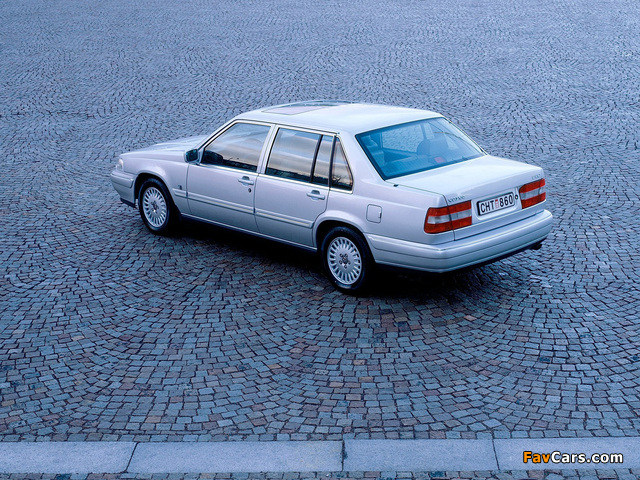 Pictures of Volvo S90 1997–98 (640 x 480)