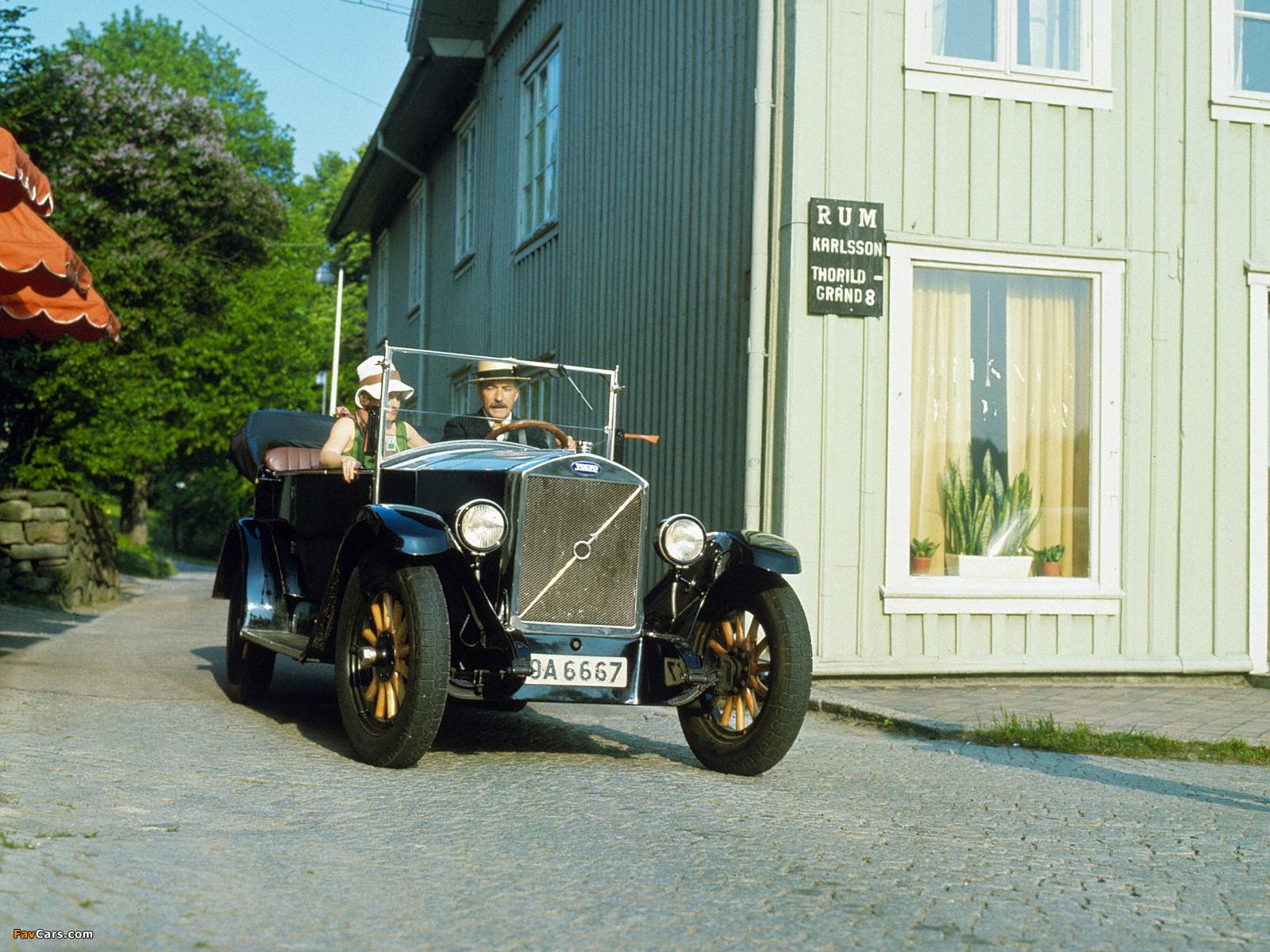 Volvo ÖV4 1927–29 wallpapers (1600 x 1200)